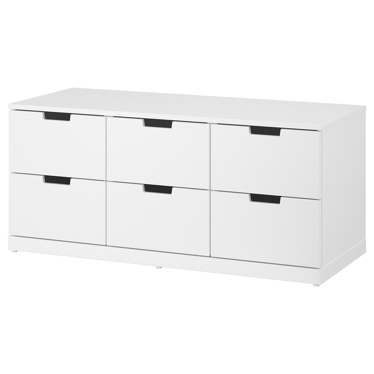 IKEA NORDLI (292.394.97) Комод, 6 ящиков