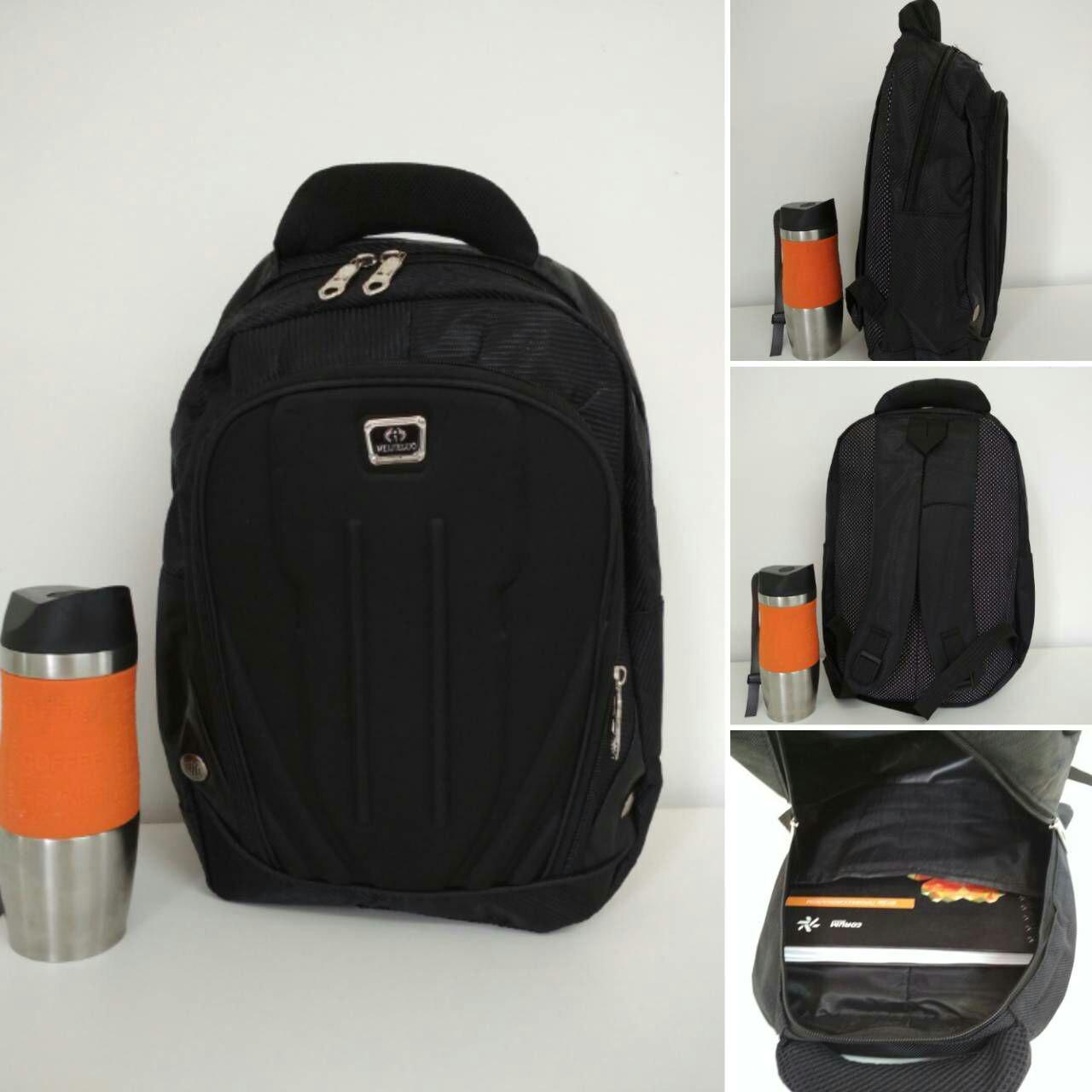 Стильный повседневный школьный рюкзак с заклепками 39*25*11 см