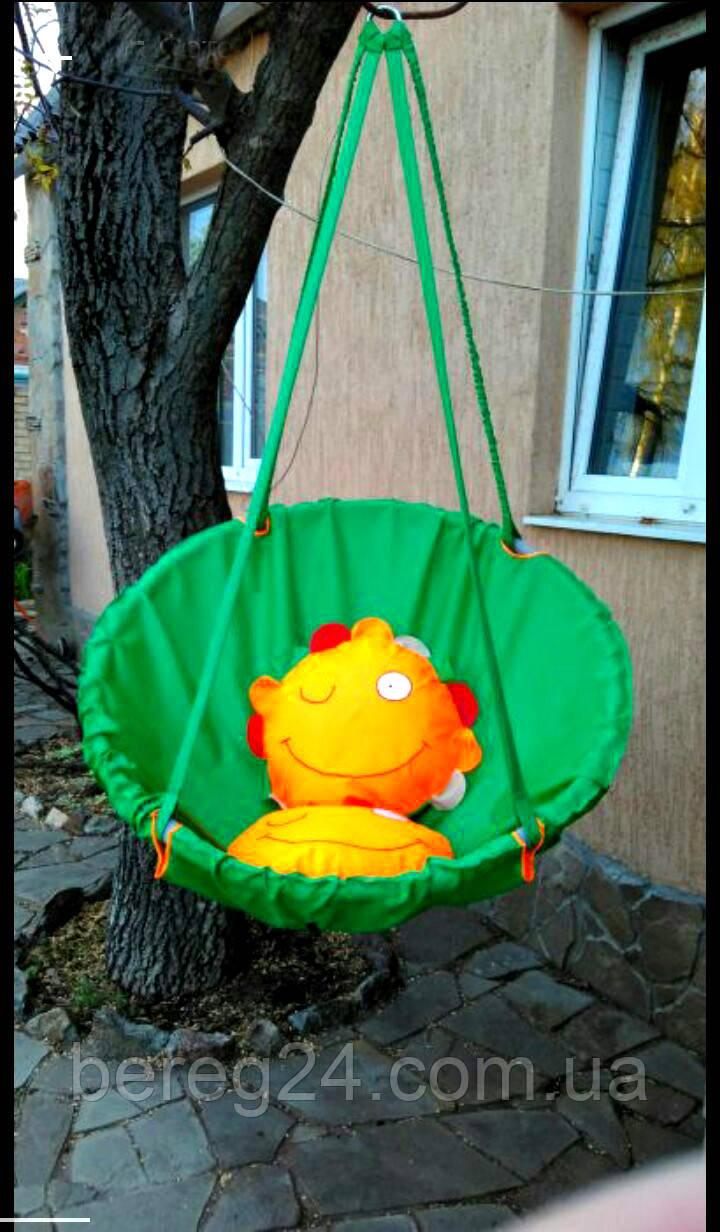 Підвісне крісло. Гойдалка садова. Гойдалка підвісна. Гамак. Крісло гойдалка. Гойдалка гамак. Кокон. Зелений