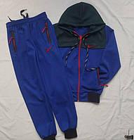 Детский спортивный костюм весна-осень 8-12 лет на манжете с капюшоном оптом