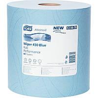 Двухслойная протирочная бумага Tork Advanced 340м - 1000 листов 34х36,5см 130070