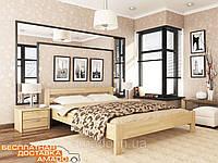 Деревянная двухспальная кровать Рената