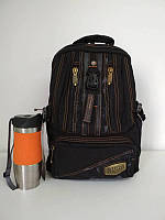 Текстильный подростковый школьный рюкзак 48*18*30 см, фото 1