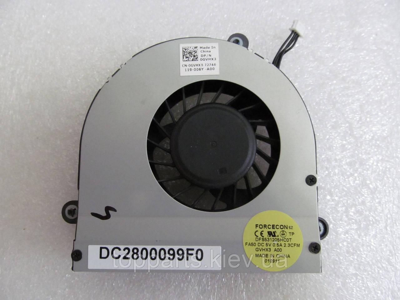 Вентилятор для ноутбука Dell Alienware M17X R3, R4 (DFS531205HC0T) DC