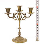 Бронзовий свічник на три свічки, лиття, бронза, Індія, фото 10