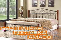 Кровать Миранда 1600*2000 (каштан) Domini