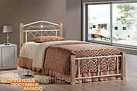 Кровать Миранда 900*2000 ДЛ (крем)