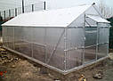 Теплица двускатная 4х8 под пк 4 мм премиум (15 лет гарантии), фото 6