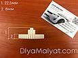 Шестерня 40/8 средняя редуктора RS540 6V детского электромобиля, фото 3