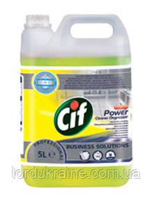 Очиститель и обезжириватель (концентрат) Cif Professional Power Cleaner Degreaser conc (5 л.)
