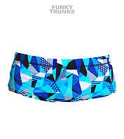 Хлоростойкие плавки для мальчиков Funky Trunks Crack Attack FT32, фото 1