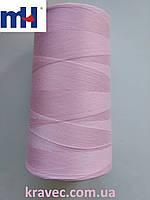 Нитка швейна MH 40S  547 рожевий