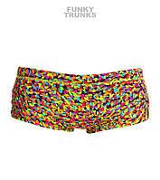 Хлоростойкие плавки для мальчиков Funky Trunks Fireworks FT32, фото 1