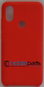 Оригинальный Силиконовый Чехол для Xiaomi Mi 6X (Красный)