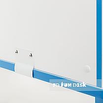 Регулируемая парта с надстройкой FunDesk Creare Blue и выдвижным ящиком, фото 3