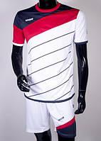 Футбольная форма Europaw 008 бело-красная ( XS, S ), фото 1