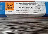 LUCAS Filalu 1192 NC Припой для пайки алюминия с флюсом (пруток - 50см), фото 2