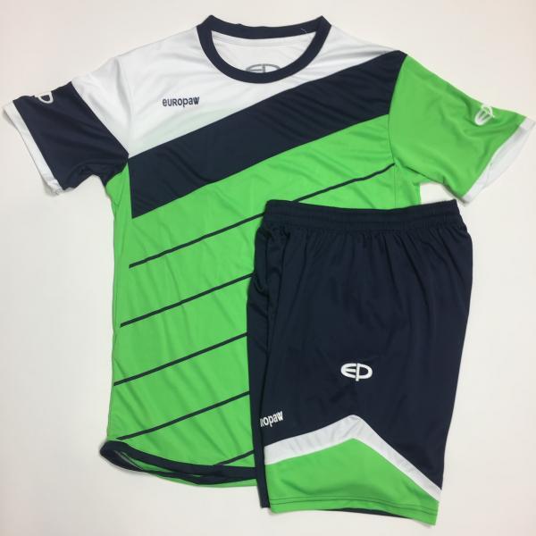 Футбольная форма Europaw 008 зелено-темно синяя ( XS, L, XL )