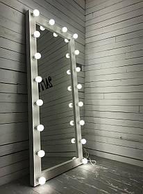 Зеркало с подсветкой (18 лампочек) Verturm M605 Ваниль (Markson TM)