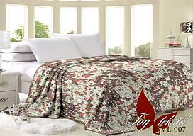 Плед на кровать велсофт VL007