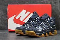 Кроссовки мужские демисезонные Nike Air More Uptempo 96, темно синие