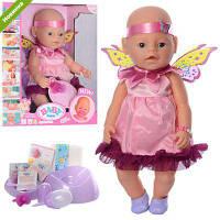 Кукла Пупс Малятко Немовлятко 8020-471-S-UA (копия Baby Born). 9 функций, 9 аксессуаров