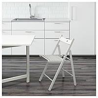 ✅ IKEA TERJE (802.224.41) Складной стул, белый