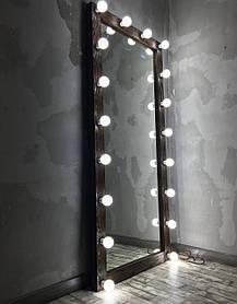Зеркало с подсветкой (18 лампочек) Verturm M605 Аруша Венге (Markson TM)