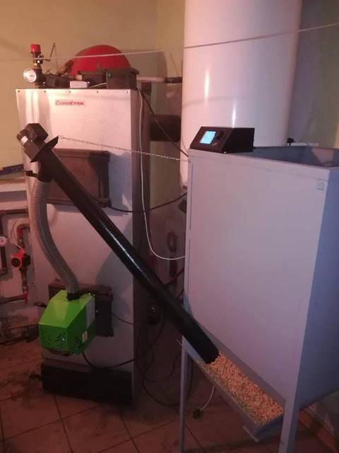 Установка Пеллетных горелок серии Air Pellet в Литве нашим официальным представителем. 6