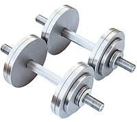 Гантели наборные 2*12 кг (Общий вес 24 кг) Металл, фото 1