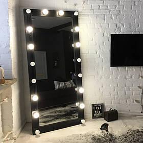 Зеркало с подсветкой Verturm ДСП Венге 18 ламп (Markson TM)