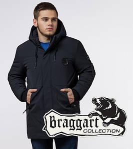 Braggart Black Diamond 9028 | Зимняя мужская куртка графит