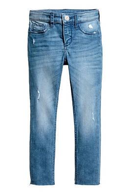 Джинсы H&M Skinny fit Worn Jeans