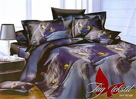 Двуспальный комплект постельного белья с 3D эффектом PS-NZ2186