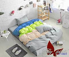 Евро комплект постельного белья Color mix APT001