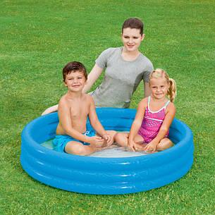 Надувний басейн Intex 59416 синій 114х25см, фото 2