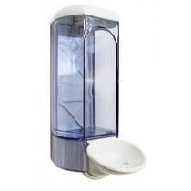 630 Дозатор жидкого мыла пластик прозрачный  локтевой