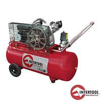Компрессор 100л, 4HP, 3кВт, 220В, 8атм, 500л/мин, 2 цилиндра PT-0014