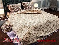 """Двуспальный набор постельного белья 180*220 из Бязи """"Gold"""" №15375AB KRISPOL™"""