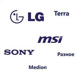 Батареї для ноутбуків LG, MSI, Fujitsu, ін. OEM