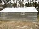 Теплица двускатная 5х6 под сотовый поликарбонат 8 мм стандарт, фото 3