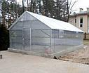 Теплица двускатная 5х6 под сотовый поликарбонат 8 мм стандарт, фото 4
