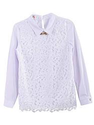 Школьная белая блузка, р.140-158