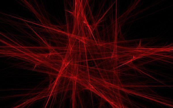 Паутина цветная с пауками (красная) 20 гр