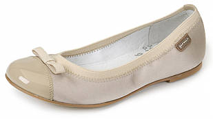 Туфлі-балетки для дівчинки Garvalin 142701 бежеві 27-37