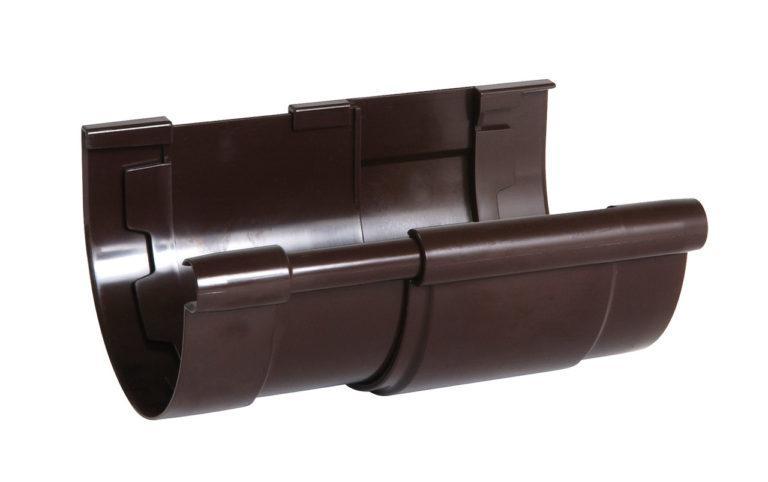 Компенсатор Nicoll для жёлоба Д=115мм., цвет коричневый