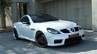 Накладки на пороги тюнинг Mercedes Benz SLK R171