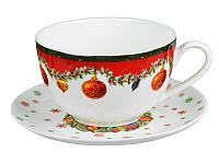 """Чайный набор """"Новогодняя коллекция"""",2пр."""
