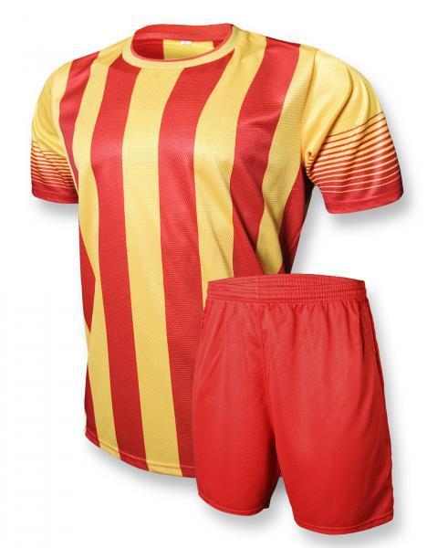 Футбольная форма Europaw club красно-желтая ( L )
