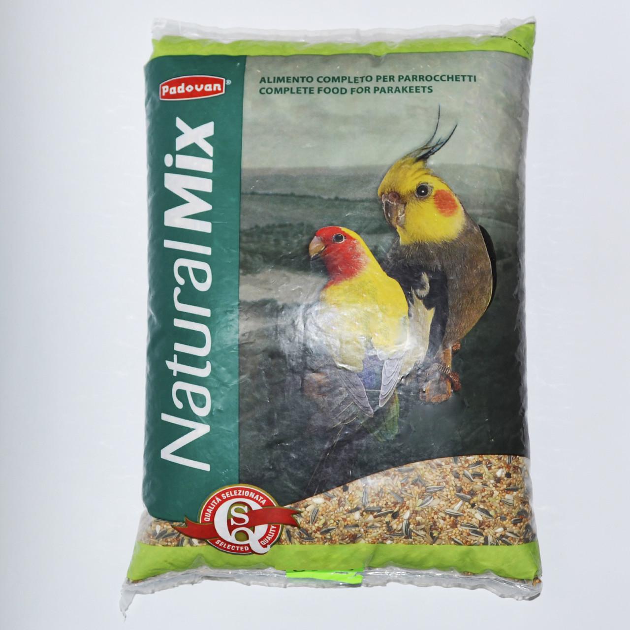 Padovan Grandmix Parrocchetti 4,5 кг корм для средних попугаев